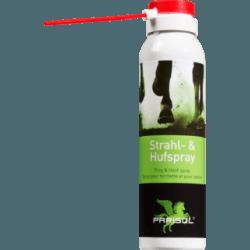 Parisol Strahl- und Hufspray 150 ml Spraydose - gut anwendbar - bei übermäßig feuchter und weicher Hufsohle und Strahl