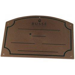 Stalltafel von Busse Boxenschild Namenschild Boxtafel PVC, STANDARD