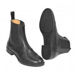 Reitstiefelette elegante Jodhpur-Stiefelette ProZip von Busse, elastischer Einsatz, Reißverschluss vorne, schwarz