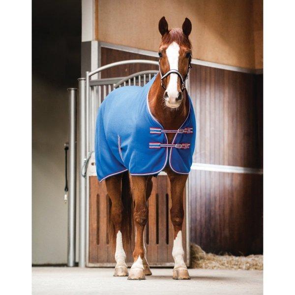 CATAGO Deluxe Pferdedecke - Fleecedecke - blau - verschiedene Größen
