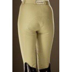 Cavallo Damen Reithose Champion mit Cavatex-Vollbesatz, Reissverschlußtasche, Beinabschluss Klett, strapazierfähige und hochelastische Microfaser Öko-Tex Standard 100