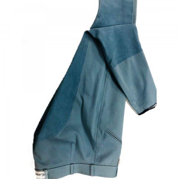 Cavallo Damen Reithose Chirac mit Cavatex-Vollbesatz, Reissverschlußtasche, Beinabschluss Klett, strapazierfähige und hochelastische Microfaser Öko-Tex Standard 100