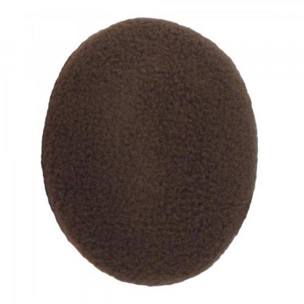 Earbags Fleece Ohrwärmer Ohren Schützer für den Reiter, braun