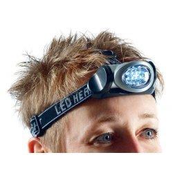 Schwenkbare LED Stirnlampe   Ideal für Nachtritte