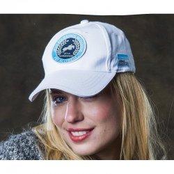 Exklusive Baseballcap Event Schirmmütze Kappe | Optimaler Sonnenschutz |One Size | Stickerei | weiß marine