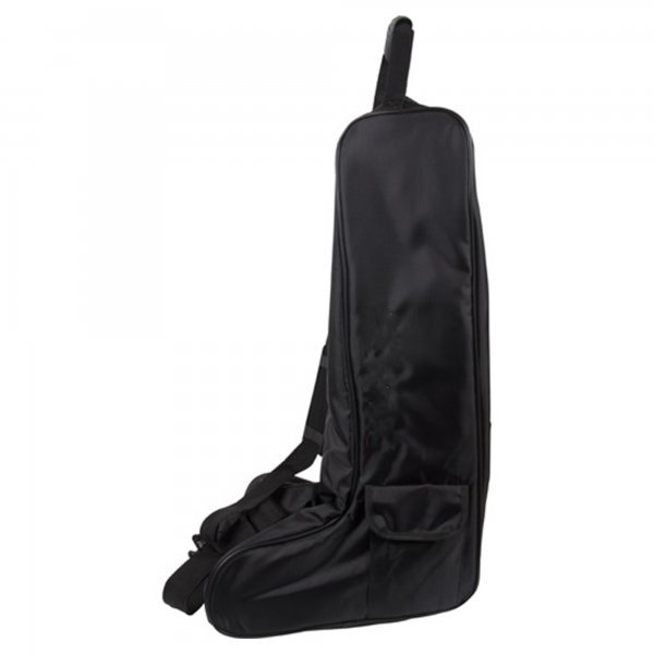Eldorado Stiefeltasche schwarz. Ideal für den Transport von Reitstiefeln