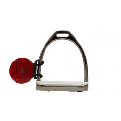Reflektor für Steigbügel - praktische Reflektoren für mehr Reitersicherheit - einfach an den Steigbügel schnallen