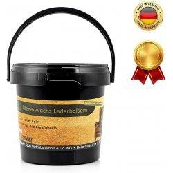 Bienenwachs-Lederbalsam von Equi Deluxe ideale Pflege für Sättel, Trensen, Autositze, Taschen, und weitere Glattleder - 500ml