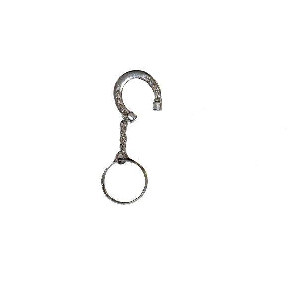 Equi Deluxe Schmuckanhänger, Schlüsselanhänger, Hufeisen, Glücksbringer, Limitierte Edition, silber