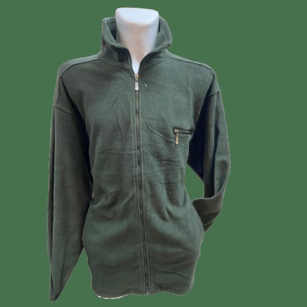 Fleece Jacke Herren - super kuschelig in tollen, frischen Farben, Oliv