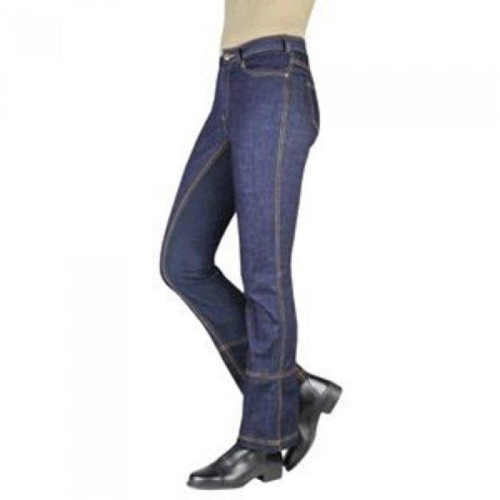 Professionel neue Stile großartige Qualität HKM Reithose Messehit 3/4 Besate Jodhpur Dallas, Jeans, blau, Damen und  Kinder