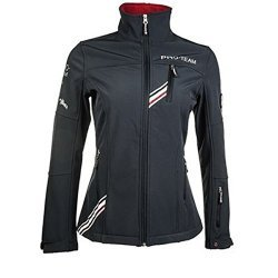 HKM PRO TEAM  Kinder Softshelljacke Boston dunkelblau