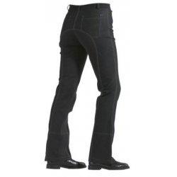 HKM Kinder Jodhpur Reithose 5861 Ganzbesatz, Reißverschlusstaschen vorne, Jeanstaschen hinten, elastische Fußstege