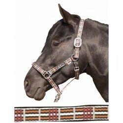Hochwertiges Halfter Polo Classic von Lauria Garrelli versch Größen unterlegt