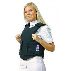 HKM Sicherheitsweste 007 Schutzweste Protectorweste schützt vor Verletzungen durch Schlag, Stoß, Sturz und Aufprall, atmungsaktiv, Klettverschlüsse, Sicherheitstandard Beta 3, schwarz