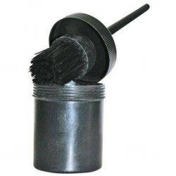 Hufbürste mit Schutztopf, sauber Anwendung, kein Verschmieren von Huffett oder -teer