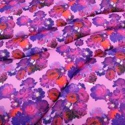 HKM Schabracke - Flower Power Style - Vielseitigkeit  (Pony), lila pink, schnelle Feuchtigkeitsaufnahme, stoßabsorbierend, rückenschonend, Schutz vor Druckstellen, Schlaufen mit Klettverschluss, weiches Untermaterial, weiche Fütterung