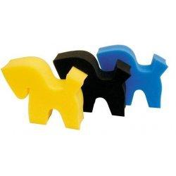 Schwamm in Pferdemotiv von HKM, bunte Farbauswahl
