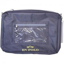 HV Polo Turnier- und Reisebegleitbag Event, Navy, 40 x 30 cm, der praktische Reisebegleiter für Turnier, Transport oder Event, viel Platz für Equidenpass, Melde- u. andere Ausweise, Geld etc.
