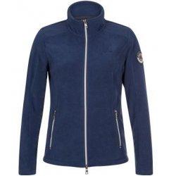Fleecejacke Ouraw von HV Polo Damen Cardigan Hoodie Strickjacke aus warmem Kuschelfleece, hoher Kragen, navy blau