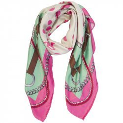 Hochwertiges HV Polo Halstuch Schal Alexandre, Farbe Candy