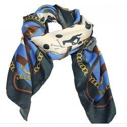 Hochwertiges HV Polo Halstuch Schal Alexandre, Farbe Navy