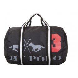 HV Polo Sportsbag Selkirk, Sporttasche, Tasche Nylon, robust, Reißverschluss, Logo