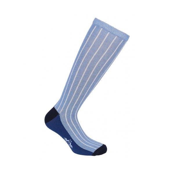 HV Polo Kniestrümpfe Reitsocken Wear, Strümpfe, HV Polo Socken, Baumwollmaterial, ideal für die Reitstiefel, Lavender Blue