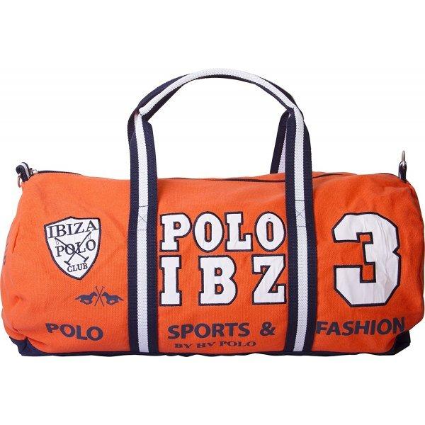 HV Polo Sportbag Reisetasche Stalltasche Shoppingbag XL Josep - Größe: 65 x 56 cm - modische Farben - Mandarin