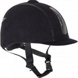 Imperial Riding Reitkappe Reithelm Sicherheitshelm mit Strasssteinchen schwarz