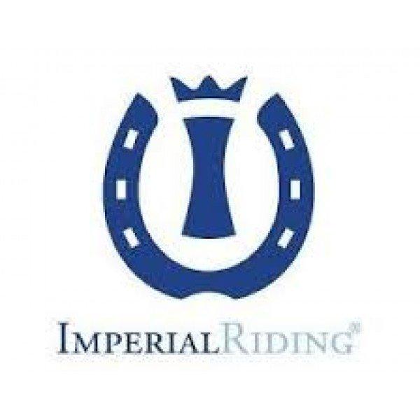 Imperial Riding Damen Fleecejacke Hunter Fleece, femininer Schnitt, Pailletten Logo, Navy