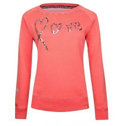 Imperial Riding Damen Pullover mit Rundhalsausschnitt Move With Me Sommer 2016 (M, Calypso Coral)