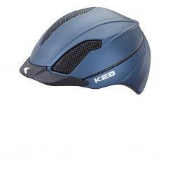 KED Reithelm Allegra BLUE Mesh, maxSHELL®-Technologie  QUICKSAFE®-Verstellsystem mit Doppel-LED Blinklicht, 180°-Reflektor
