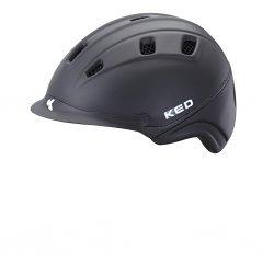 KED Basco schwarz matt, maxSHELL®-Technologie QUICKSAFE®-Verstellsystem mit Doppel-LED Blinklicht