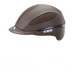 KED Reithelm Paso brown matt, maxSHELL®-Technologie QUICKSTOPP® Gurtlängeneinstellung und -arretierung