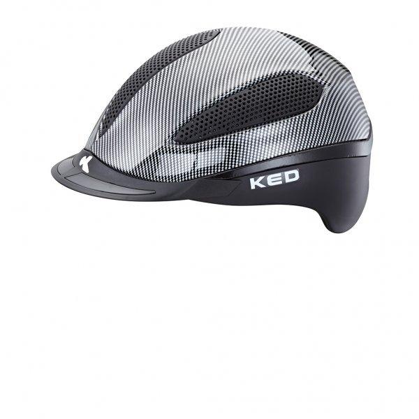 KED Reithelm Paso K-Star schwarz mit Reflektoren, maxSHELL®-Technologie QUICKSTOPP®, K-STAR® Vollflächen-Reflektor