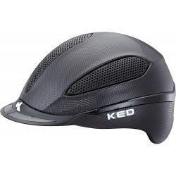 KED Reithelm Paso Black Mesh, maxSHELL®-Technologie QUICKSTOPP® Gurtlängeneinstellung und -arretierung