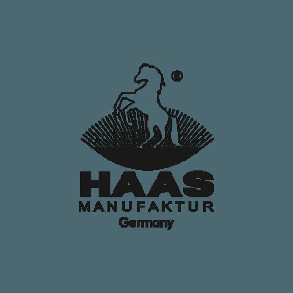 Haas Hufkratzer mit Bürste in bewährter Kunststoffqualität