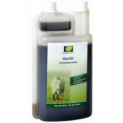Hanföl von Natures Ergänzungsfuttermittel zur Unterstützung des Energiehaushaltes bei Pferden