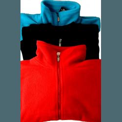 Fleece Jacke Damen - super kuschelig in tollen, frischen Farben, blau