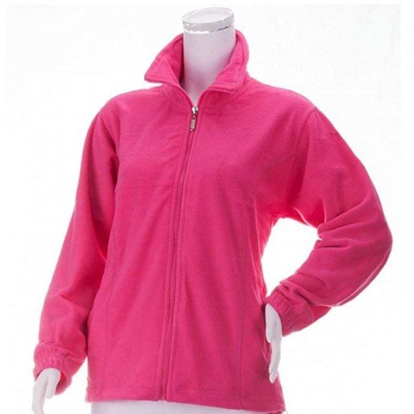 Fleece Jacke Damen - super kuschelig in tollen, frischen Farben, Pink