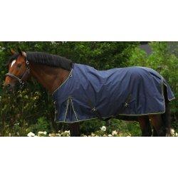 Pony-Regendecke Crossover ohne Rückennaht, glattes Futter, Nähte vertaped, wasserdicht