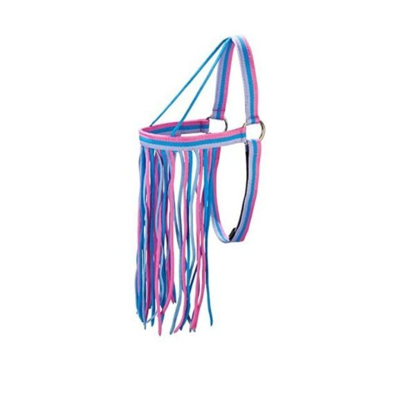 Fliegenfransen ohne Halfter zu tragen von Pfiff, Fliegenschutz, Fliegenabwehr, Stirnfransen, Augenschutz