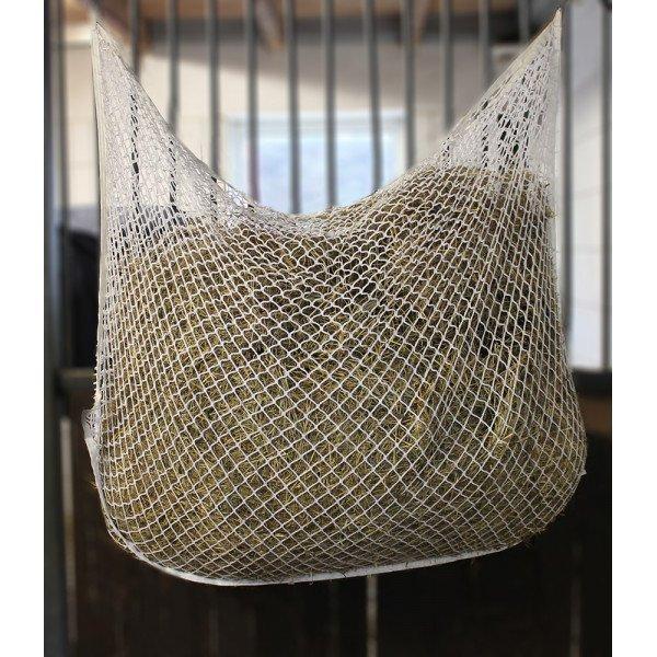 Heunetz kleinmaschig ohne Knoten von Pfiff, Beschäftigungsnetz, Futtersparer, verlängert die Fressdauer, verhindert Langeweile, 160x100cm