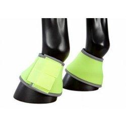 Neon-Springglocken leuchtend reflektierend abwaschbar Doppelklettverschluss neongelb