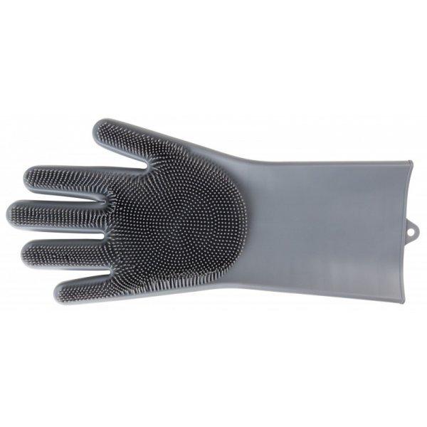 Putzhandschuh Waschhandschuh Pflegehandschuh von Pfiff wasserdichter Silikonhandschuh einzelner Handschuh für die rechte Hand