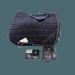 Schabracken-Set mit Fliegenhaube, Gamaschen und Polarfleecebandagen