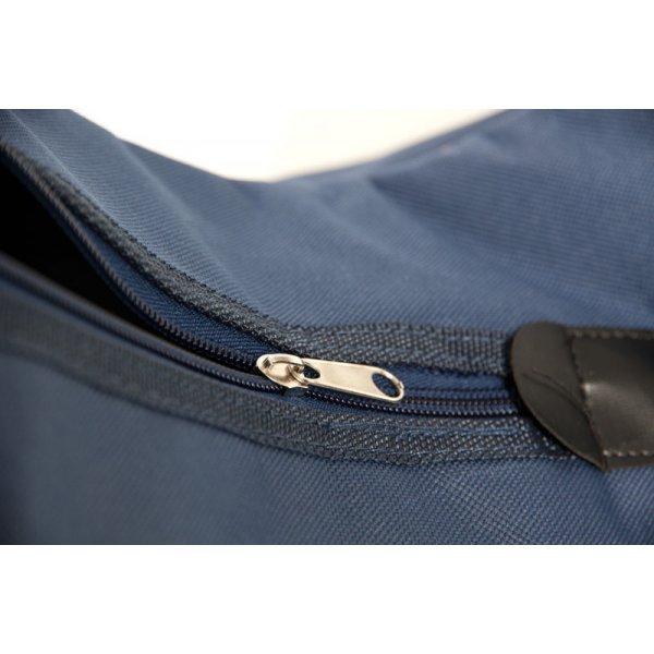 Stiefeltasche Triple dunkelblau | Ideal für den Transport von Reitstiefeln - toll zu personalisieren