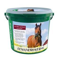 Seniormineral von Agrobs, Mineralversorgung für ältere Pferde und Esel, getreidefrei, stärke- und zuckerreduzziert, 3 kg