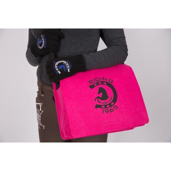 """RIDING USLAR 1965 - Umhängetasche """"Filz"""" - in trendiger Farbe - Perfekt für einen Kurzausflug oder das Büro, Tasche, Tragetasche, Putztasche, Stalltasche"""